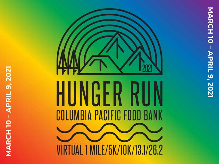 Hunger run 2021 logo